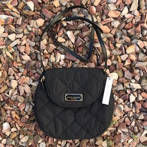 Marc Jacobs Natasha Quilted Nylon Crossbody